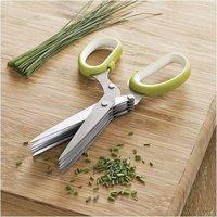 5 Blade Stainless Steel Herb Scissors Multi Blade Herb Scissors
