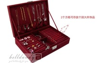 Jewelry boxes, quit dish ear hammer earrings receive a box, the ring box, jewelry frame