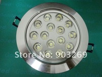 Discount ship 20PCs TH15/TH16 15W 15 LED Ceiling Down Light  1100 Lumens 85V -265V  Warm White/White Recessed Down Light