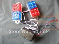 Red Blue strobe flashing Led brake light, Third brake light Car Auto Emergency warning taillight for Vehicles Motorcycles