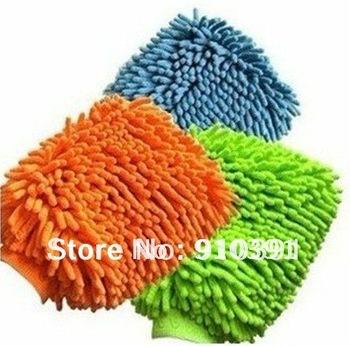 FreeShipping/EMS,microfibre super mitt,cleaner gloves cloth,neil fiber car wash mitt gloves towel,TV/Glass/PC clean care experts