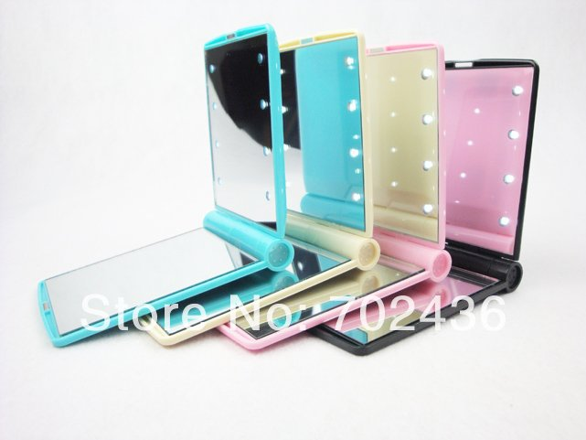 shipping led mirror makeup lighted mirror cosmetic mirror wholesale. Black Bedroom Furniture Sets. Home Design Ideas