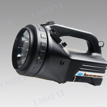 Free shipping! 100w halogen handheld spotlight, hand held searchlight,10M candles brightness,work light