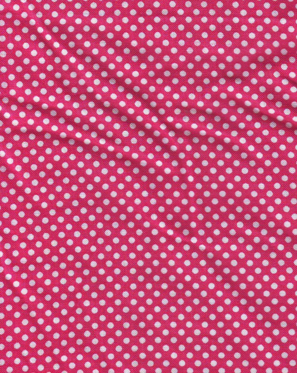polka dot curtains.
