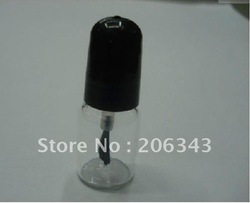 Capacity 3ml empty nail polish / enamel bottle or clear nail polish bottle(China (Mainland))