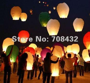 30pcs/lot,Christmas SKY UFO Balloon Kongming wishing Lanterns Flying Light Halloween Lights,Chinese kongming Lantern