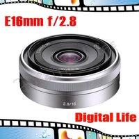 E 16mm f2.8 Wide-angle Prime Lens for Sony NEX-5 Digital Camera
