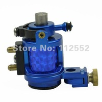 Free Shipping + high-quality blue-cast zinc alloy tattoo motors machine features a lightweight, attractive appearance