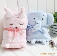 BG002 baby blanket kids blanket children bolster rabbit