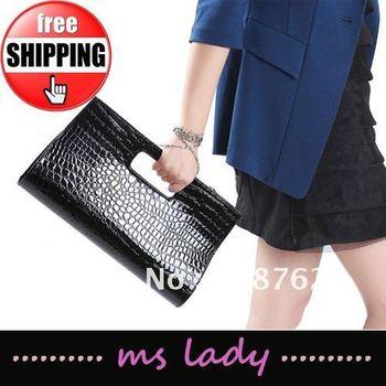 Fashion 2012 new handbag Korean Clutch Tote bag purses and handbags Free shipping HK airmail