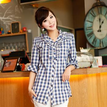 Plaid shirt 1601