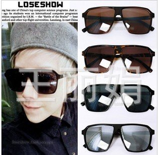 Free shipping Fashion Popular Unisex Mercury reflective Restore ancient ways big box sunglasses/Skull Heads