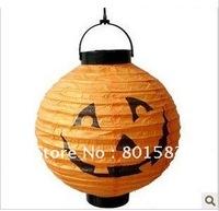 Halloween Decoration  Pumpkin Paper Lantern,halloween Pumpkin paper lanterns, free shipping,10 pcs /lot