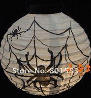 free ship Halloween festival  gits , Halloween decoration,Halloween gift,Paper Lantern, spiders lanterns,