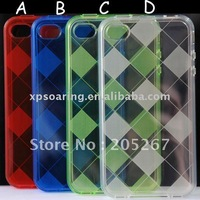 high quality TPU case skin cover for iphone 4S 4G