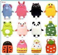 Wholesale Linda Linda Bag Kids School Bag Cartoon Designs Animal Shape Shoulders Adjustable Baby Backpack