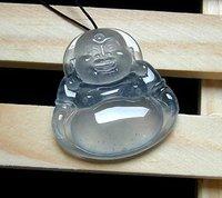 A Quality ICY Jadeite 100% Natural Burma jadeite jade Pendant Buddha consecration Buddha A+++++ quality ( amulet )