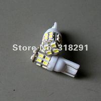 Wholesale 100pcs/lot white T10 W5W 194 168  White 20 SMD 12O6 3528 LED Side Light Bulb 12V wedge auto lamp