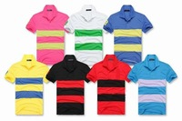 Retail/Wholesale Free Shipping Brand Shirt Poloshirt Cotton Men Bar