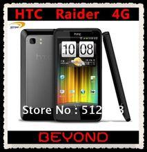 "100% original HTC Raider 4G X710E unlocked 3G&4G GSM+CDMA Android 16GB mobile phone 4.5"" WIFI GPS 8MP dropshipping(China (Mainland))"