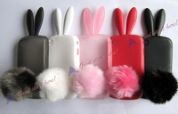 Rabbit Silicone Protector Case Cover For Blackberry Curve 8520 9300 Free Shipping  DC920