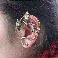 C9R4C Retro Punk Dragon Ear Cuff Exaggerated Earring