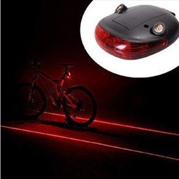 Bicycle Cycling Laser Rear Tail Light Lamp Bike safety light seatpost light Warning lighting