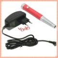Free Shipping,Pro Permanent Makeup Eyebrow Tattoo Pen Machine Rose Red,Tattoo needle,10003679