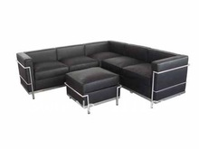wholesale modern leather sectional