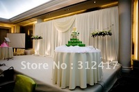 Free shipping Top selling soft hand feeling without iron wedding backdrops for wedding decoration, wedding favor
