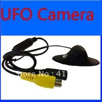 UFO Waterproof Camera & 170 Angle Car Rear View  HD camera  ,Free shipping