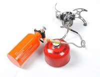 Free Shipping Oil/Gas Multi-Use Stove Cooking Stove Camping Stove Portable and Lightweight BRS-8
