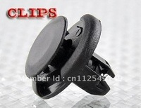 100PCS 8mm AUTO FENDER CLIPS Fit For Acura Honda Front Push-Type Retainer Clips Free Shipping