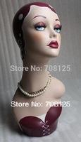 Vintage Jewelry Display Mannequin Head