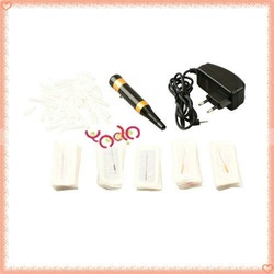 Free Shipping,New Tattoo Accessories Pro Permanent Makeup Eyebrow Pen Machine Tattoo Supply,Tattoo needle,10002075(China (Mainland))