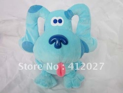 Adorable Blue's Clues Dog Soft Plush Doll Toy(China (Mainland))