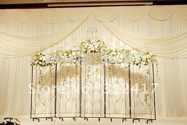 Free shipping Top rated customized 3m*6m wedding backdrop curtain