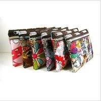 120142  Multi-function portable canvas wallet storage bag Cosmetic bag handbag