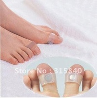 20pcs = 10pairs New 2014 Personal Magnetic Silicon Foot Massager Toe Ring Weight Loss Slimming Health Care -- MSP50 PA44