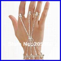 Free shipping!Rhinestone Slave Bracelet Tone Sexy Rhinestone Jewelry Wholesale 12pcs/lot Party Costume Jewelry 0659