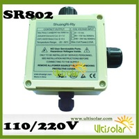 SR868C8Q Solar Water Heater Controller one Delta T 2 PT1000 and 3 NTC 10k Sensor RPM Speed Control Thermal Energy Measure