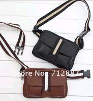 Free shipping- classic hot  sale Single shoulder bag Pu idle man's messenger Bags
