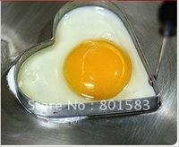 Free ship wholesale egg heart shaper / loverly hart shanper for egg / cute egg shaper for lover