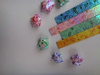 Hello kitty Origami Paper, luck stars strips, Free Shipping 600 Strips/lot wholesale,handcraft gift,hot sale