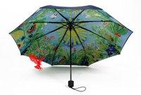 Hayao Miyazaki chinchilla umbrella  Seventy percent off sun umbrella UV