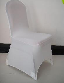 Wholesale - sample order(1pcs white spandex chair cover and 1pcs organza sash)(China (Mainland))