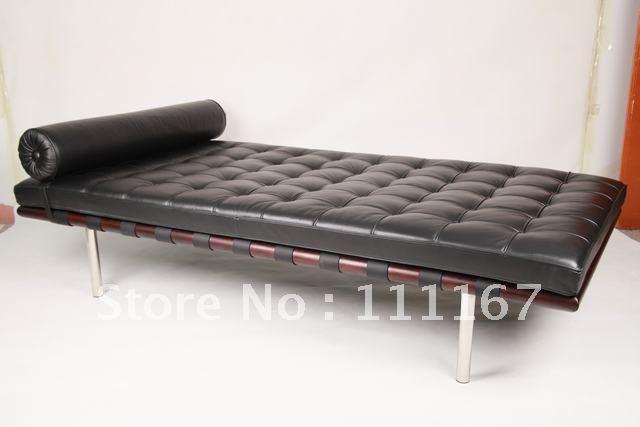ludwig mies van der rohe barcelona day bed barcelona bed. Black Bedroom Furniture Sets. Home Design Ideas