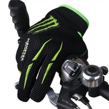 New Bike Bicycle Full Finger Cycling Gloves size M - XL