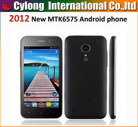 ZOPO Libero ZP500 Phone -4.0 Inch 854*480 display Android 4.0 MTK6575 3G GPS WiFi 5.0MP Camera(China (Mainland))