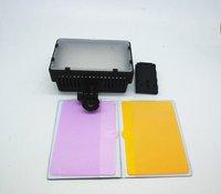 NanGuang CN-126 color temperature LED video light on the video camera DSLR camera